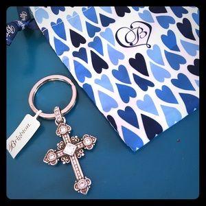 NEW!  Brighton Cross keychain!  ✝️
